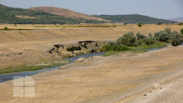 Codul portocaliu de secetă hidrologică în imagini (FOTOREPORT)