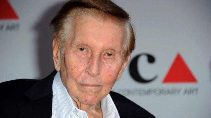 Miliardarul american,Sumner Redstone, s-a stins din viaţă la vârsta de 97 de ani
