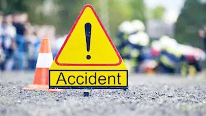 Accident FATAL în raionul Ungheni. Un bărbat și-a pierdut viața, iar fiica lui a ajuns la spital