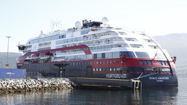 Nou focar plutitor de coronavirus. 40 de persoane aflate pe un vas de croazieră norvegian, confirmate cu COVID-19