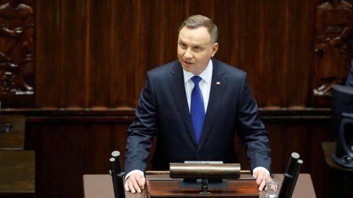 Andrzej Duda a depus jurământul pentru al doilea mandat de preşedinte al Poloniei