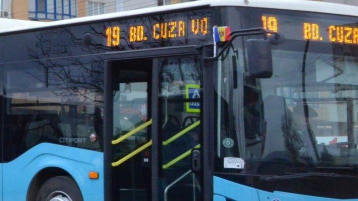 Itinerarul unei linii de autobuz va fi modificat parțial