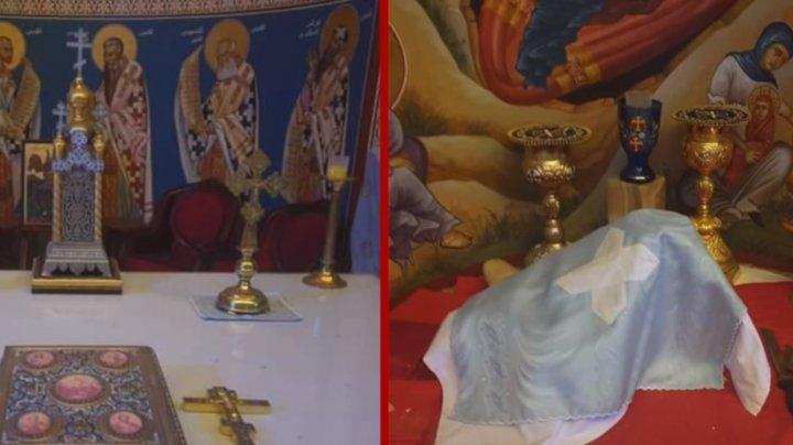 Altarul unei biserici ortodoxe din Beirut, neatins de explozie, dă speranțe preotului