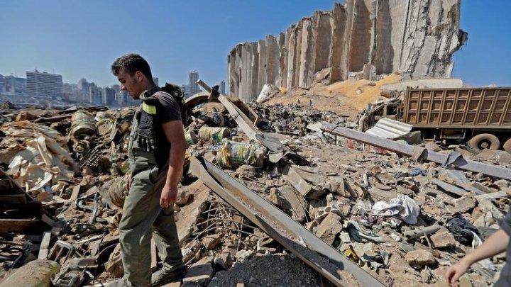 Parlamentul libanez a aprobat starea de urgenţă la Beirut, după exploziile devastatoare din 4 august