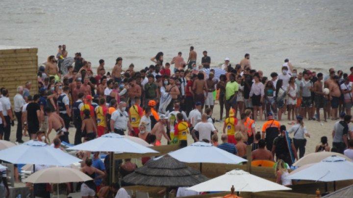 Plajele din Belgia se închid pentru turismul de o zi