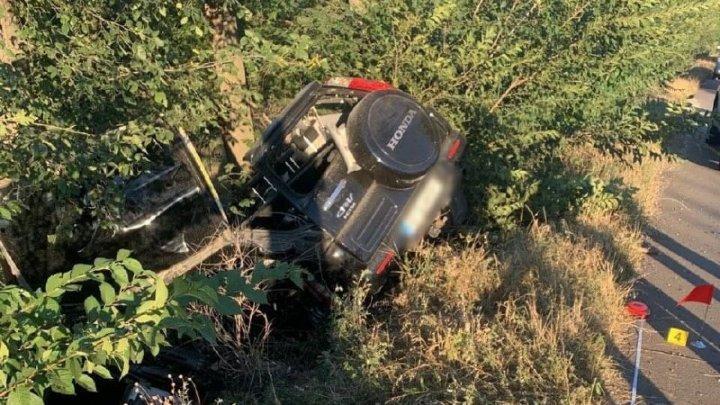 Încă o TRAGEDIE pe șosea. Un polițist a murit, în urma unui ACCIDENT GRAV în apropiere de Bulboaca