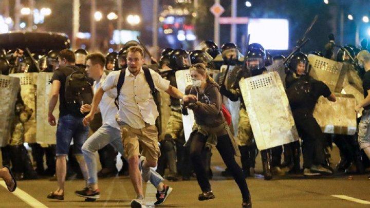 6.000 de persoane au fost arestate în urma protestelor din Belarus