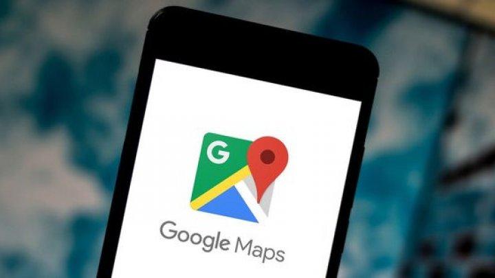 Google actualizează hărțile Google Maps cu o nouă grafică