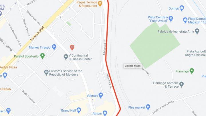 Atenție! Traficul rutier va fi suspendat pe strada Albișoara