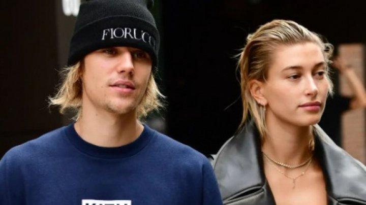 Justin Bieber s-a botezat alături de soția lui, într-un lac
