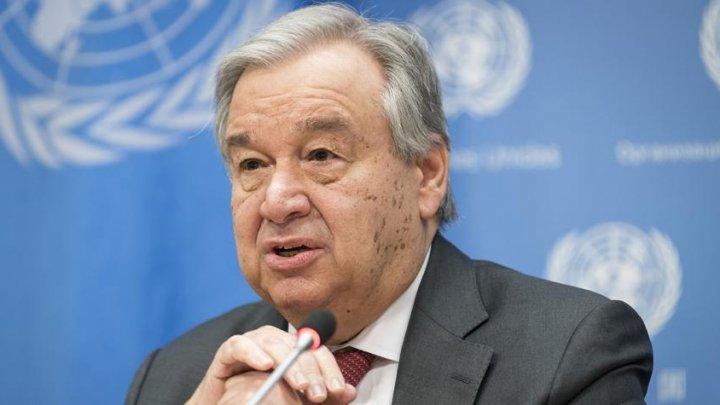 Secretarul general al ONU, Antonio Guterres, a cerut eliminarea totală a armelor nucleare