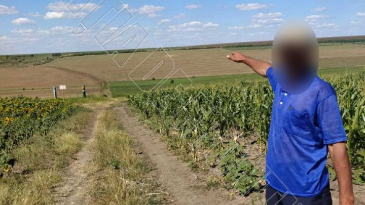 Un bărbat care a încercat să fugă în ţara vecină pentru a-și găsi un loc de muncă, prins la frontieră