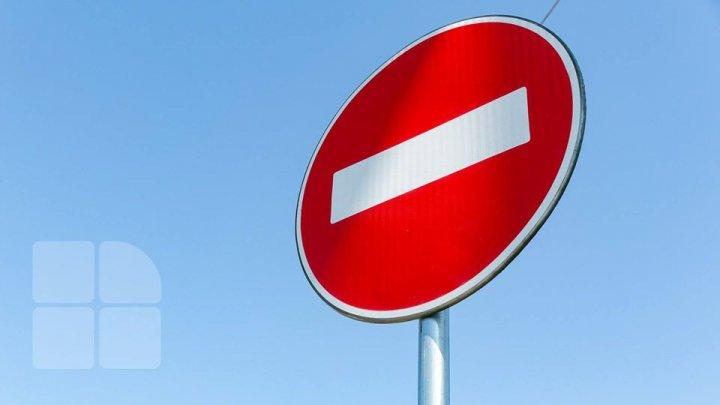 Atenție, șoferi. Traficul rutier va fi suspendat pe o stradă din centrul Capitalei timp de o lună