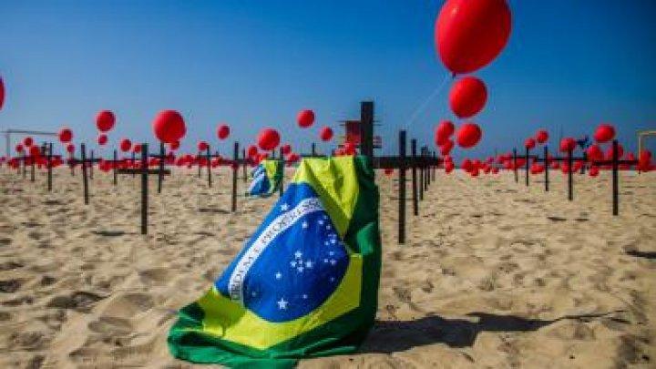 Brazilia a depăşit pragul de 100 de mii de morţi provocate de COVID-19