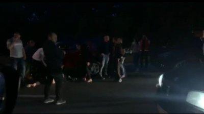Accident violent în Capitală. Un bărbat de 62 de ani a fost lovit de un BMW (VIDEO)