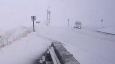Zăpadă de jumătate de metru în Franța și Italia. Zonele unde a NINS ABUNDENT (VIDEO)