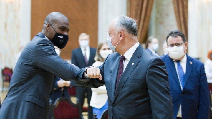 Igor Dodon a adus mulţumiri statelor care sprijină ţara noastră în lupta cu noul coronavirus