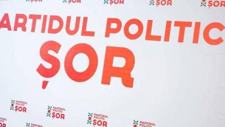 """Partidul Politic """"Șor"""" și-a prezentat raportul de activitate în fața cetățenilor"""