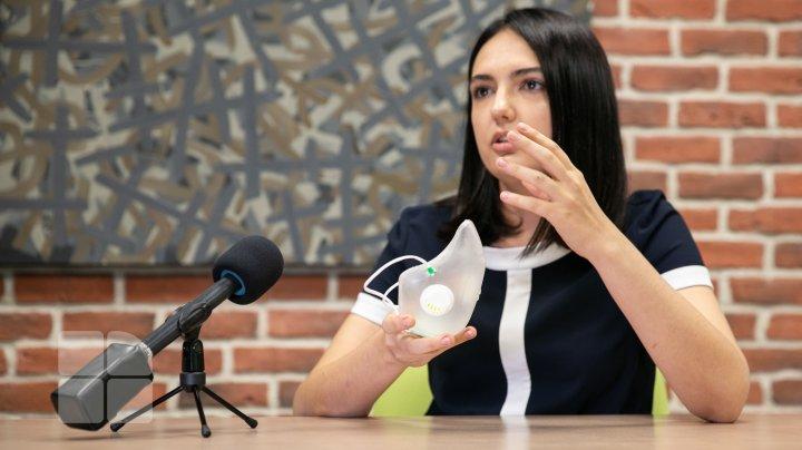 Model neobișnuit de mască sanitară, MADE IN MOLDOVA