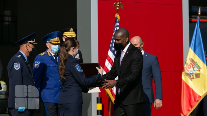 La Hânceşti a fost inaugurat un sediu nou pentru Detaşamentul de Salvatori şi Pompieri (FOTOREPORT)