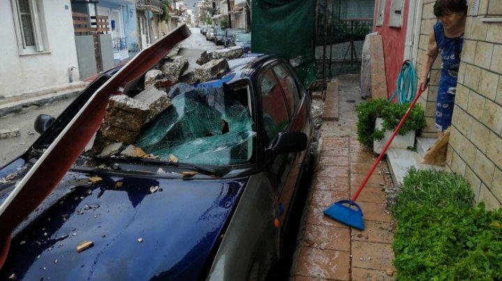 Uraganul mediteranean Ianos face primele victime: O femeie a fost găsită moartă