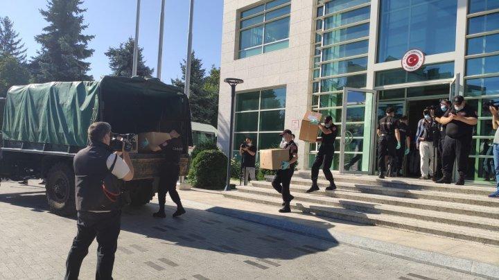 Turcia a donat Republicii Moldova un lot de echipamente medicale, în lupta cu COVID-19