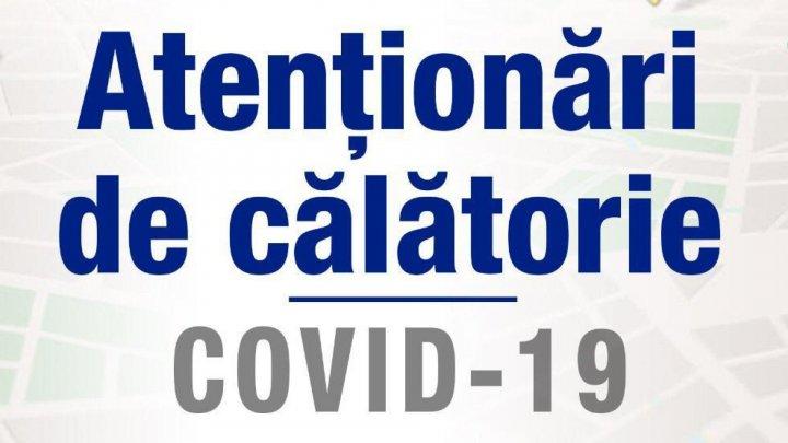 Noi alerte de călătorie. Moldoveni vor avea ACCES RESTRICŢIONAT pe teritoriul a încă trei țări