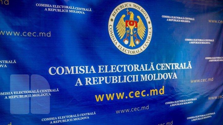 CEC primeşte de astăzi dosarele de înregistrare a candidaților la funcția de deputat în Parlamentul Republicii Moldova