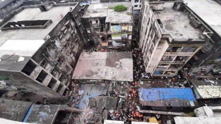 10 persoane au fost ucise și alte 25 se află sub dărâmituri, în urma prăbușirii unei clădiri din Mumbai, India
