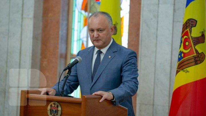 Igor Dodon a ținut un discurs la ONU. Temele abordate de președintele Republicii Moldova