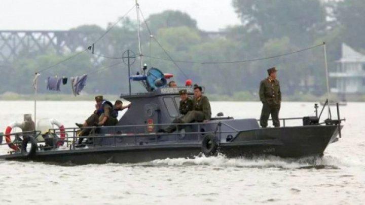 Forţele nord-coreene au împuşcat mortal un sud-coreean ce lucra în pescuit