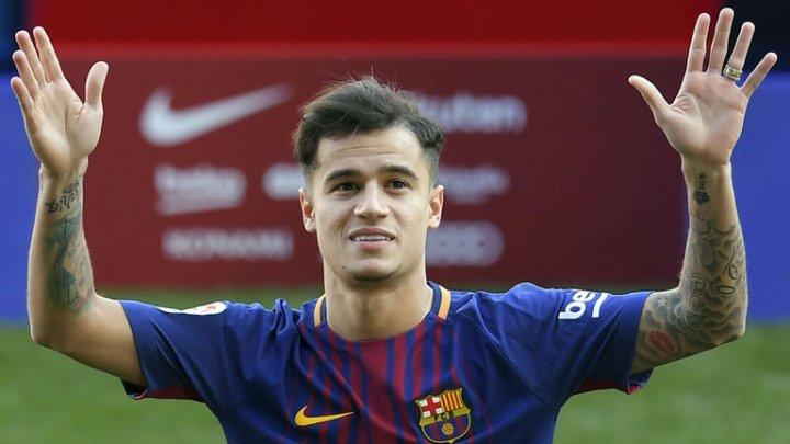 Fotbalistul Philippe Coutinho s-a despărţit de Bayern Munchen şi a revenit la FC Barcelona