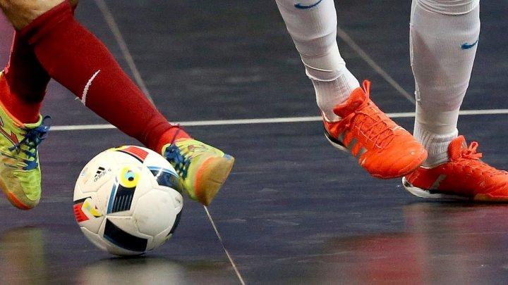 Naţionala de futsal a Moldovei a pierdut meciul amical cu reprezentativa Belarusului