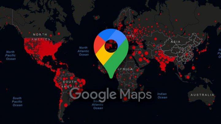 Google Maps va afișa în curând informații despre COVID-19