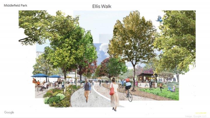 Google vrea să construiască un oraș pentru angajații săi, cu birouri, locuințe și parcuri (FOTO)