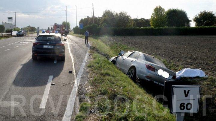 Un moldovean, aflat la volanul unui BMW, și-a pierdut viața într-un GROAZNIC accident în Italia