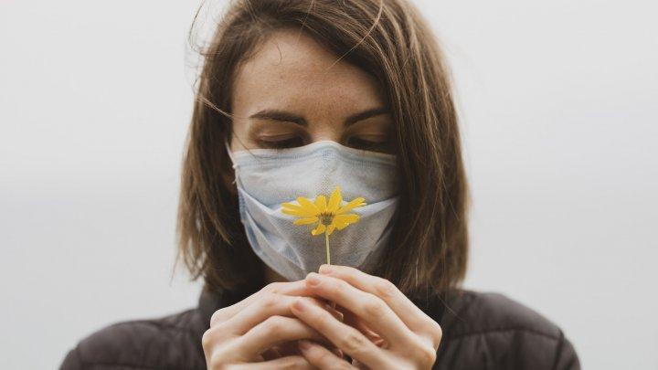 Pierderea mirosului este o veste bună în COVID-19