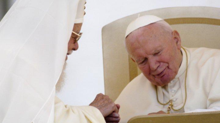 Moaștele papei Ioan Paul al II-lea au fost furate dintr-o catedrală din Italia