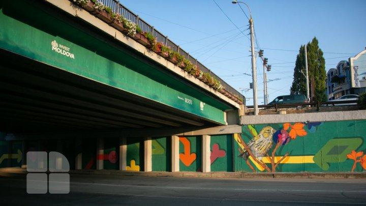 Podul de la Telecentru a prins viață (FOTOREPORT)