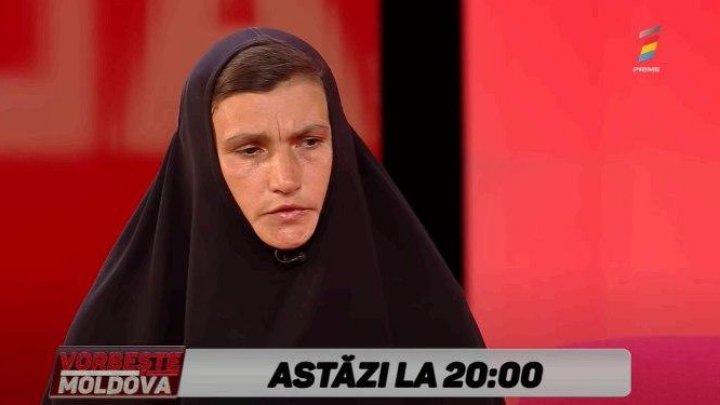 Clipe de groază pentru o călugăriță care a trăit 30 de ani în pustietate. De cine se teme, aflați la Vorbește Moldova (VIDEO)