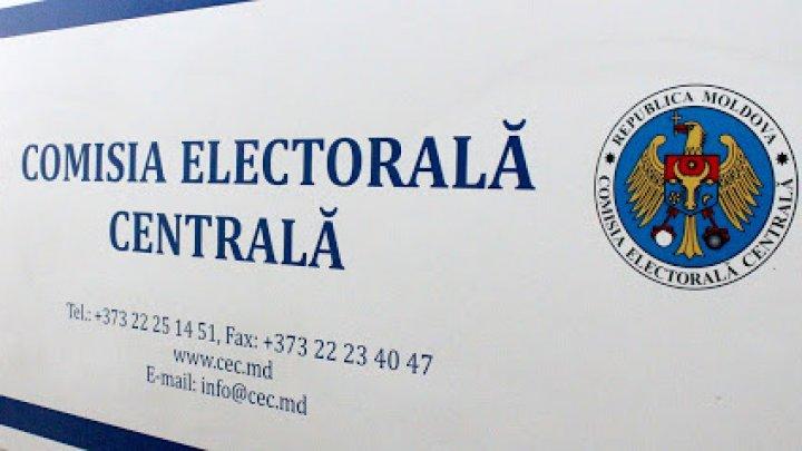 CEC a stabilit ordinea prealabilă de înscriere în buletinul de vot pentru primii candidați la funcția de șef al statului