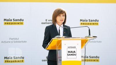 Ultim mesaj al Maiei Sandu: Moldovenii își doresc locuri de muncă și un stat care muncește pentru ei