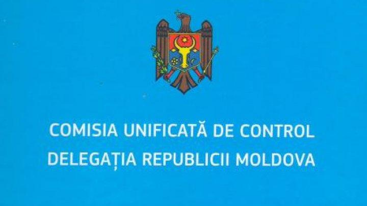 Delegația Moldovei în Comisia Unificată de Control a cerut eliberarea imediată a persoanelor răpite de separatiști