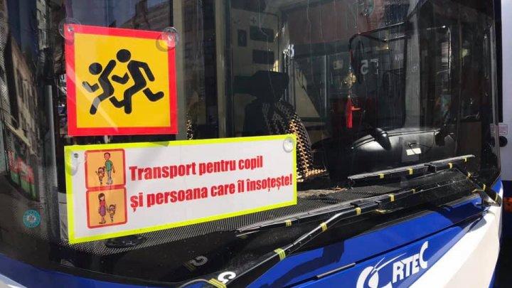 RTEC a suspendat circulația troleibuzelor destinate transportării exclusive a elevilor
