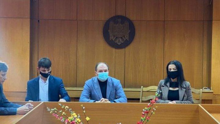 Sectorul Botanica are un pretor interimar. Ion Ceban a prezentat-o pe Diana Guba echipei de la Botanica