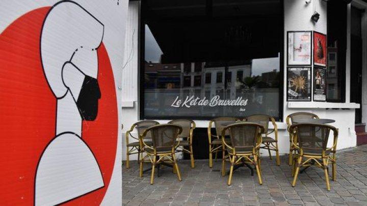 Belgia intră în carantină totală pentru a salva sistemul sanitar