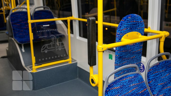 De Hramul orașului Chișinău vor fi lansate pe rute 5 troleibuze articulate noi
