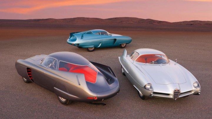 Trei mașini unice din anii '50 au fost scoase la licitație pentru 20 de milioane de dolari (FOTO)