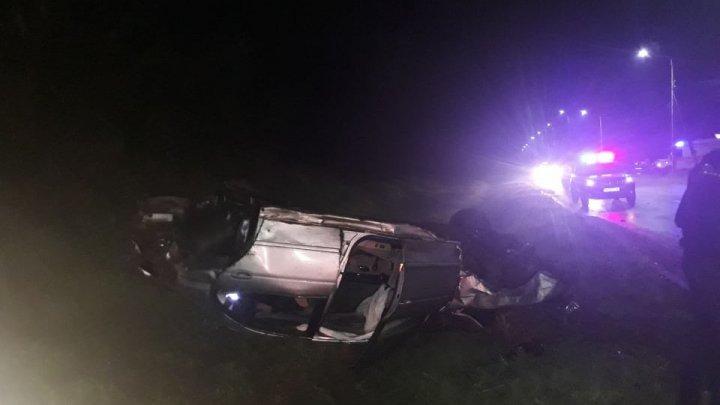 Accident grav la Anenii Noi din cauza unui șofer beat și fără permis de conducere. Sunt VICTIME