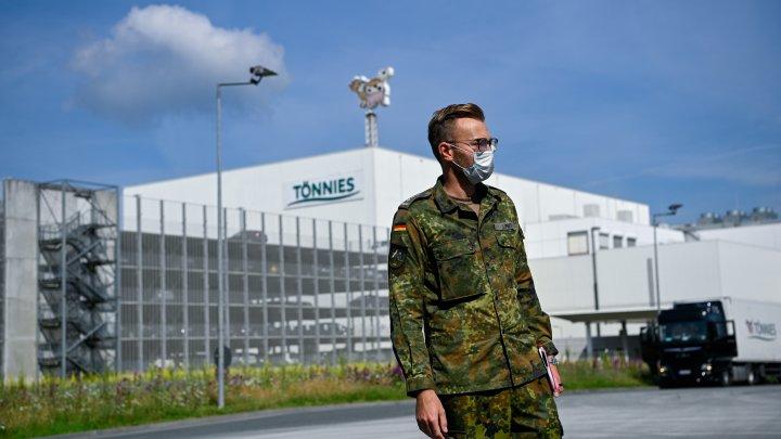 Până la 15.000 de militari germani vor fi detaşaţi pentru a acorda sprijin autorităţilor locale